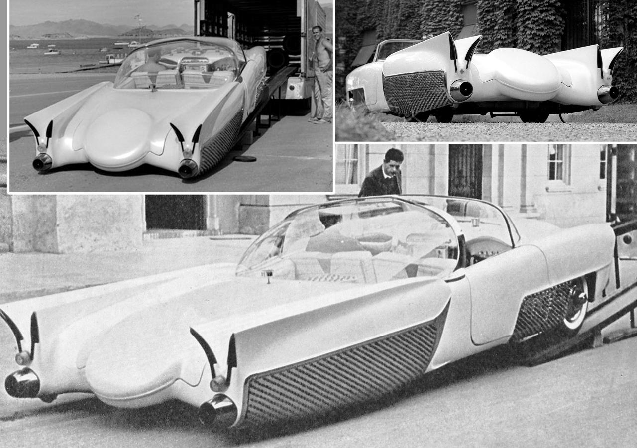 Golden Sahara I & II…première voiture autonome de l'histoire ! (+ vidéos) By gatsbyonline.com George-Barris-GoldenSaharaII-21