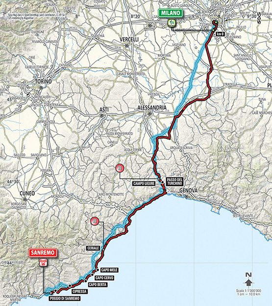 Milan - San Remo 2015 Img_planimetria2015