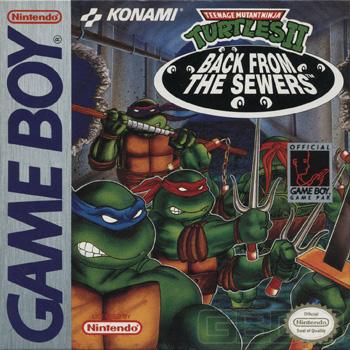 GAME BOY Top 5 des plus belles boites Tmnt_2_11_box_front