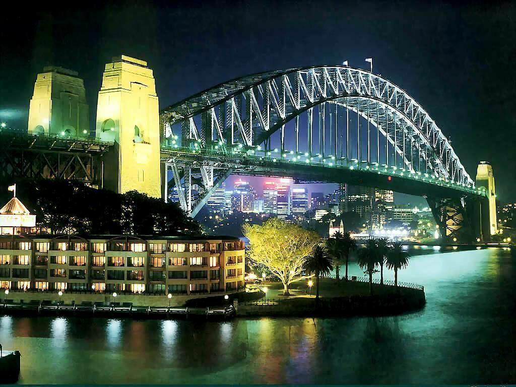 Arhitektura koja spaja ljude - Mostovi Sydney-harbour-bridge-sydney-australia