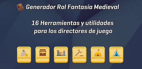 Generador Rol Fantasía Medieval App Fondo-Google-Play-Foros