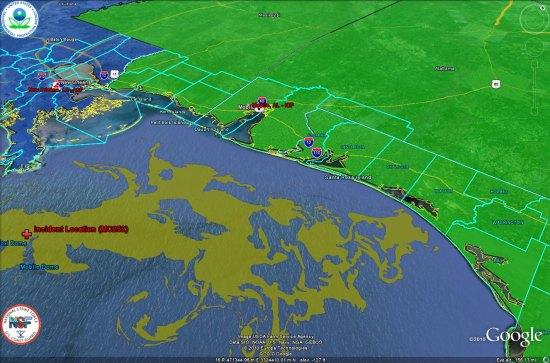 La Marée Noire causée par BP (Louisiane, Nouvelle Orléans) Epa-bpspill