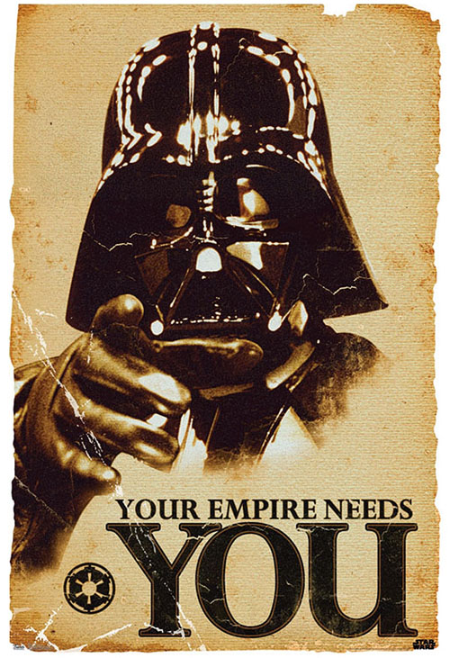 I want this Star-Wars-Vader-Empire-Poster