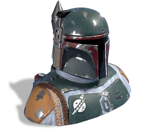 Boba Fett Life Size Bust Bf-cookie