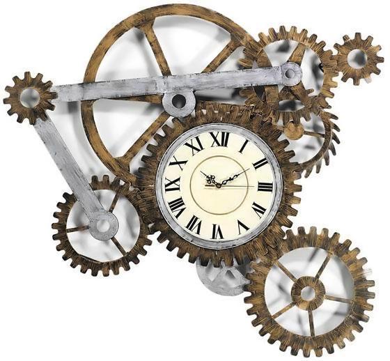 நேரம் பழையதாகிவிட்டது  Steampunk-wall-clock