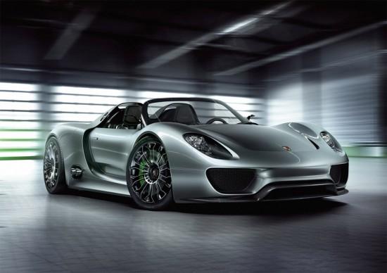 Le nouveaux visage de l'Hyperluxe  Porsche-918-spyder-550x388
