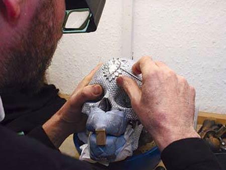 Damien Hirst's Diamond-skull
