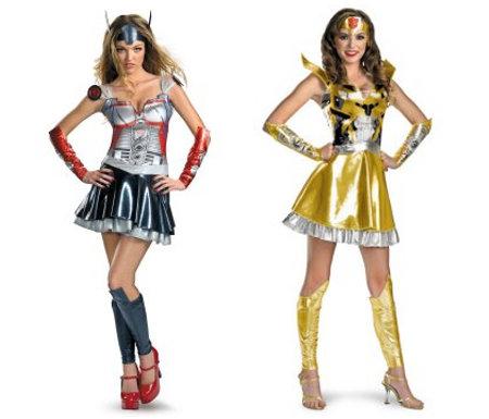 Joyeux Halloween à tous!!! et/ou Parlons aussi de Films d'horreur Lady-transformer-costumes