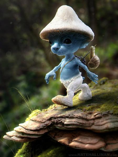 Fan Art Smurf-irl-small