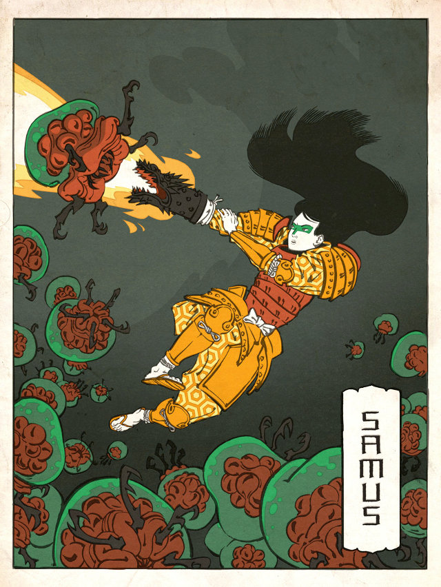ITT: We post images of epic/stupid/disturbing Game/Manga/Anime images. - Page 25 Nintendo-blockprint-art-1