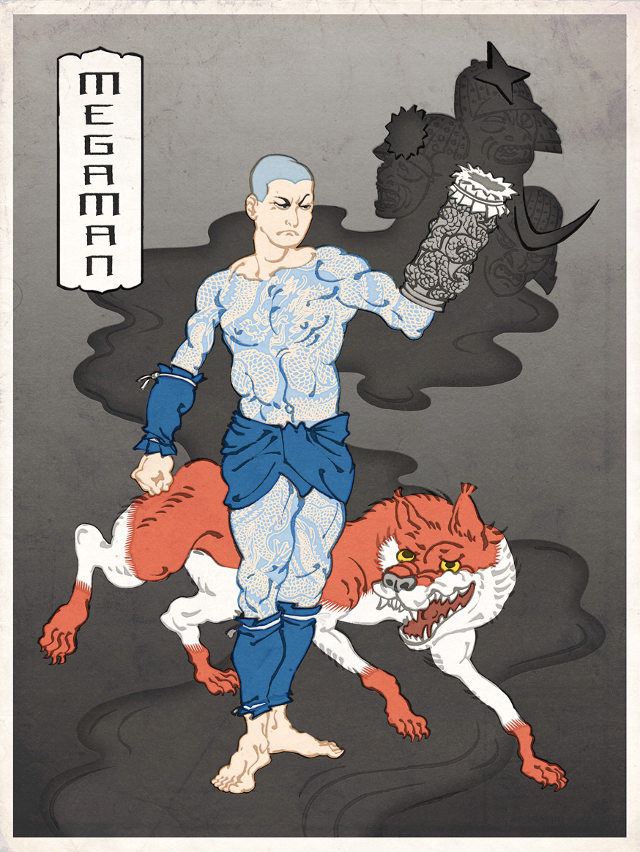 ITT: We post images of epic/stupid/disturbing Game/Manga/Anime images. - Page 25 Nintendo-blockprint-art-2