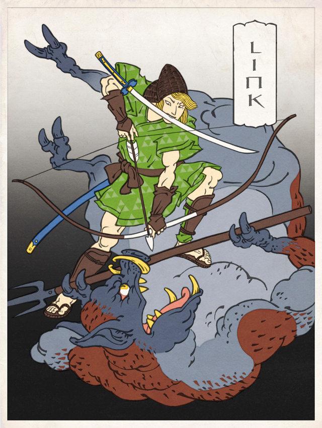 ITT: We post images of epic/stupid/disturbing Game/Manga/Anime images. - Page 25 Nintendo-blockprint-art-3