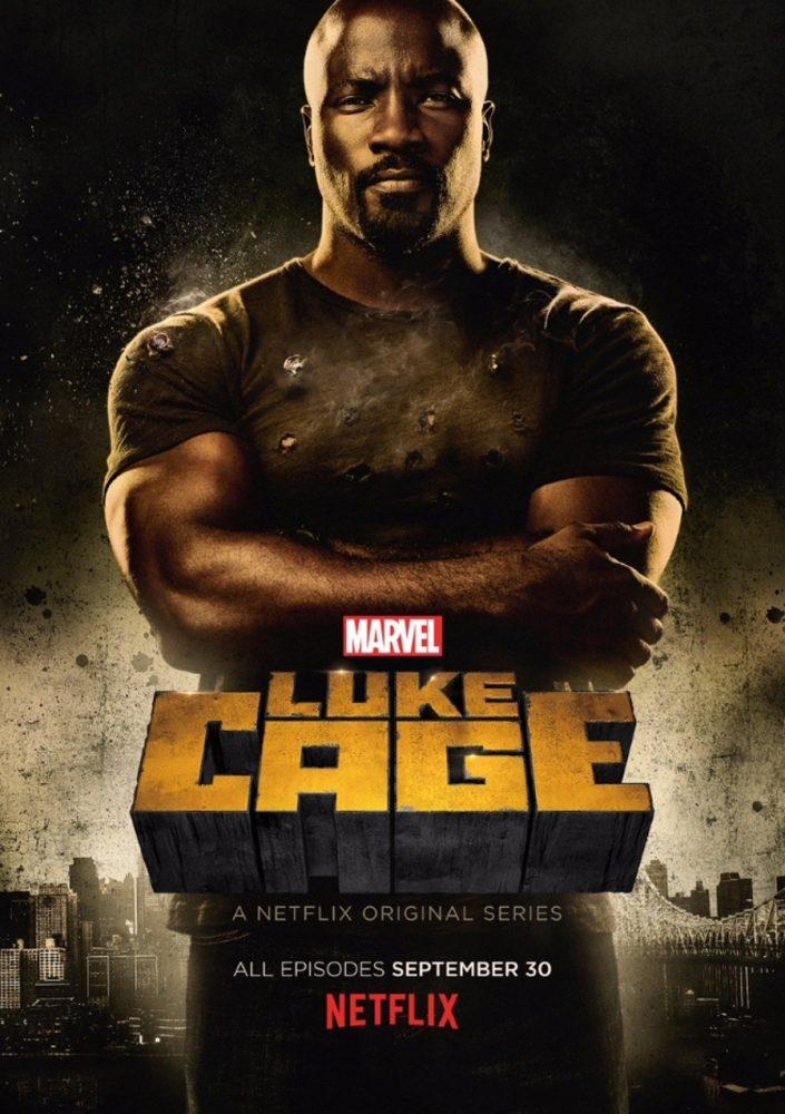 Daredevil/Jessica Jones/Luke Cage/The Punisher/Iron Fist/Defenders [Marvel/ABC - 2015-2019] - Page 2 Luke-Cage-Poster-Marvel-Netflix-705x1000