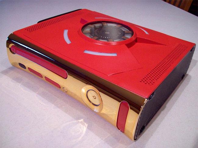 -= CUSTOM XBOX 360 =- Iron-Man-Custom-Xbox-360