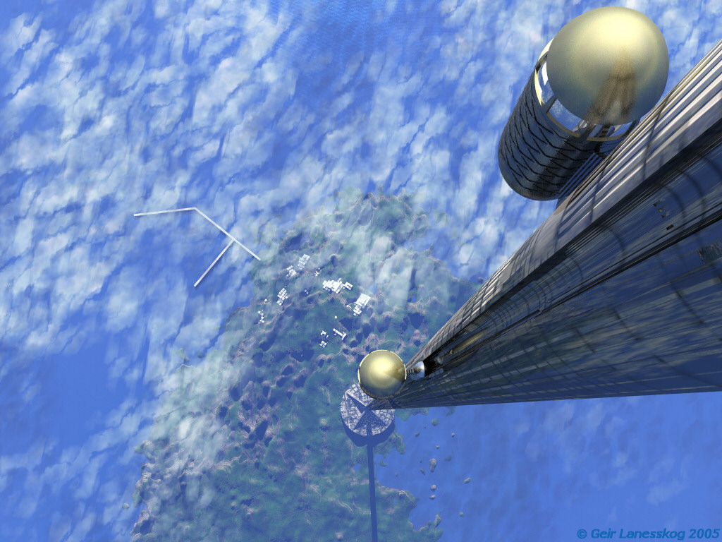 The University of Solar System Studies - Page 29 SpaceElevator