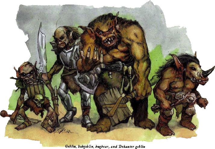 Les Terres du Royaume d'Hyrule.... - Page 6 Gobelins