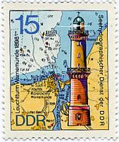 Die Heimat auf Briefmarke Briefmarke_Leuchtturm_2