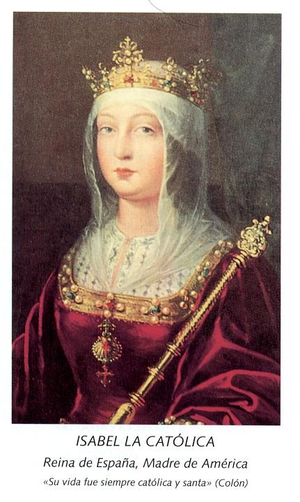 La península Ibérica entre 1504 y 1517 Isabel_catolicaD