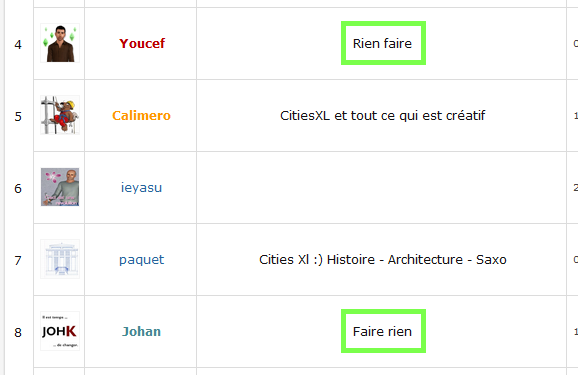 [Best Of] Le meilleur du Forum Rienfaire