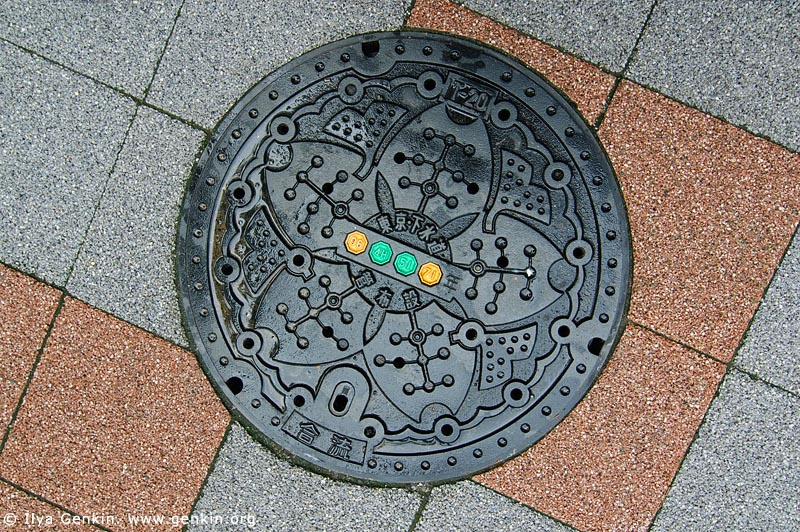 Man hole covers Jp-tokyo-0021