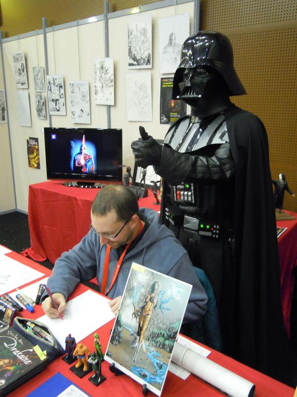 Générations Star Wars & Science fiction Cusset 28-29 Avril  - Page 6 Henin_Vador