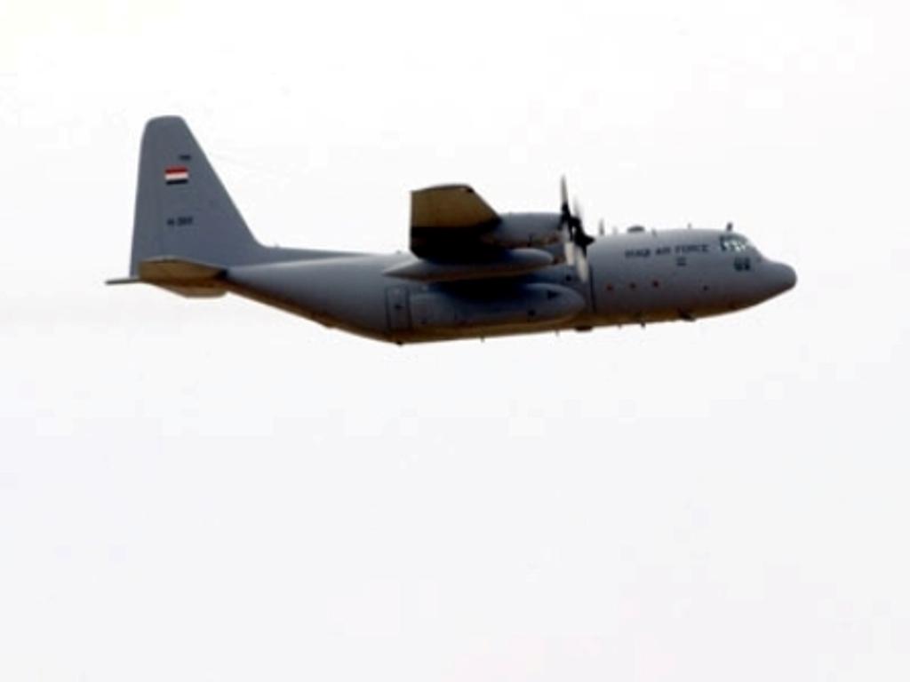العراق يحصل على 6 طائرات c130 j  IraqiC130