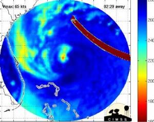 MicroWave Burst Takes Out Hurricane Lane. Sandy-anomalies-300x238