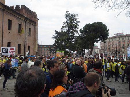 The Awakening Grows, Italians Stage Impressive Anti-Geoengineering Protest Bologna-protest-6-450x338
