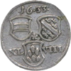 Monnayage de nécessité du SIEGE DE BRISACH PAR LES SUEDOIS (3.08-16.10 1633), durant la Guerre de Trente Ans en Alsace (1621-1648)