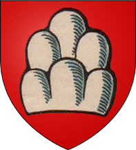 """35. 1 Ducat (48 Kreuzer) """"Goldgulden"""" 1638 à l'écu de Saxe. Siège de Brisach par le duc Bernard de Saxe-Weimar (1604-1639) en 1638. Guerre de Trente Ans ArmoiriesBreisach"""