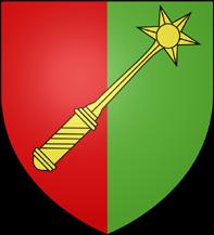 08. 3 Kreuzer non daté aux armes de la municipalité de Colmar. Titulature de Rodolphe II de Habsbourg (1576-1612) BlasonColmar