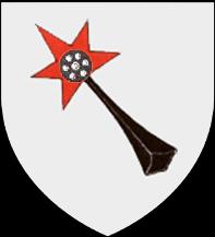 08. 3 Kreuzer non daté aux armes de la municipalité de Colmar. Titulature de Rodolphe II de Habsbourg (1576-1612) BlasonColmarAncien