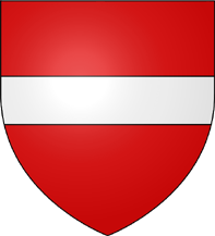 10. Taler (60 Kreuzer) 1564-1595, à l'effigie et armorial de l'archiduc Ferdinand II, Ensisheim BlasonEnsisheim