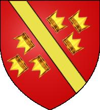 30. Taler (60 Kreuzer) 1608, à l'effigie et armorial de l'empereur Rodolphe II de Habsbourg, Ensisheim BlasonHauteAlsace
