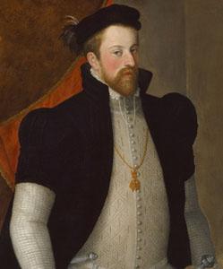 10. Taler (60 Kreuzer) 1564-1595, à l'effigie et armorial de l'archiduc Ferdinand II, Ensisheim FerdinandII