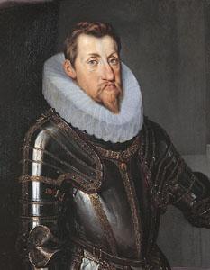 60. Taler (60 Kreuzer) 1621, à l'effigie et armorial de l'empereur Ferdinand II (1619-1637), Ensisheim FerdinandIIEmp