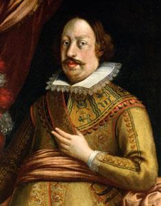 76. Taler (60 Kreuzer) 1628, à l'effigie et armorial de l'archiduc Léopold V, Ensisheim   LeopoldV