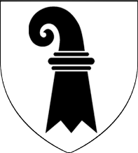 """13c. Sceau municipal de la cité de Bâle (Basel), pour le quartier de """"Petit-Bâle"""", vers 1275  BaselStab"""