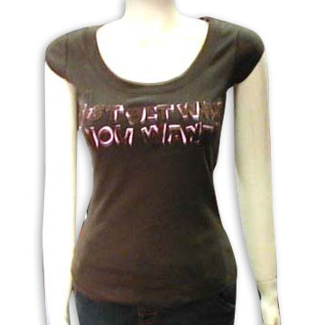 Drabuziu spinta Ladies__T_Shirt__1_x_1_Rib_