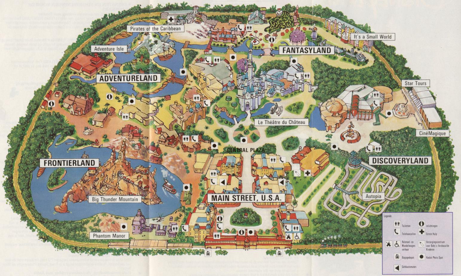 Shanghai Disneyland (2016) - Le Parc en général - Page 21 Map1992