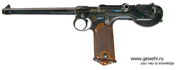"""Пистолет """"Парабеллум"""" 1225041319_borch"""