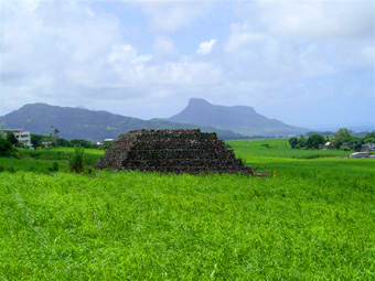 Seven pyramids identified on the African island of Mauritius Maurice10
