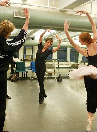 Gillian Murphy!!! Rehearsal