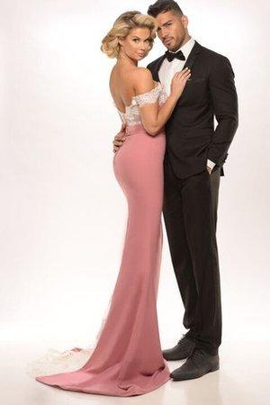 I fan si aspettano che Jayne porti la moda www.gillne.it 9ce2-4pn15-abito-da-sera-cerniera-cuore-con-manica-corte-fuori-dalla-spalla-con-fusciacca