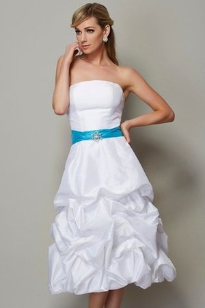 perfettamente abbinato a sottili accessori bianchi  9ce2-8r0rb-abito-da-damigella-naturale-cerniera-senza-maniche-senza-spalline-principessa