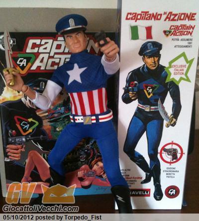 Capitano in Azione ( Captain Action ) , nessuno lo colleziona qui ?  CA-08