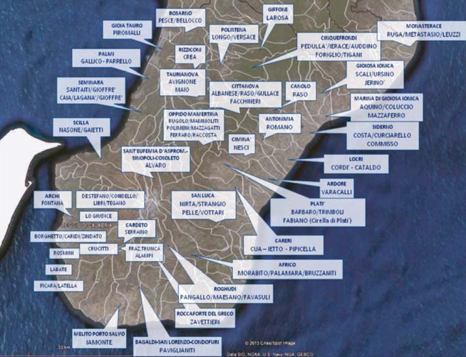 La politica e la mafia Mappa-mafia-ndrangheta-1