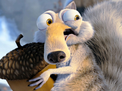 people hope to touch the sky. i dream of kissing it.-- - Page 5 Scrat00