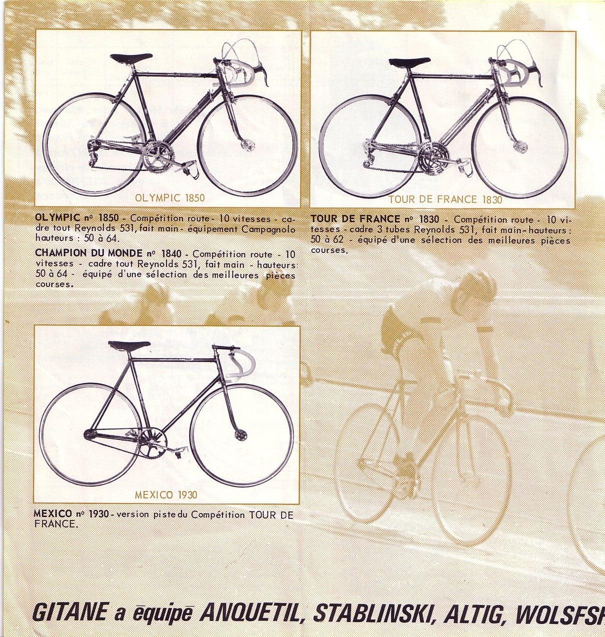 Gitane, non, Peugeot en fait, PX10 circa 1968 1960_pg1