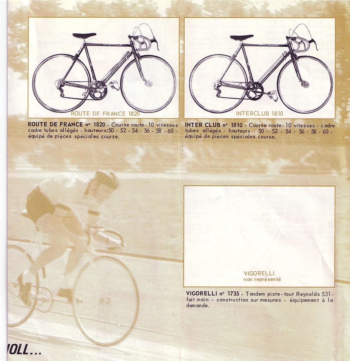"""Gitane """"Route de France"""" 1960_pg2"""